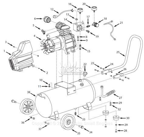 cbell hausfeld hl4315 parts diagram for air compressor parts 2009