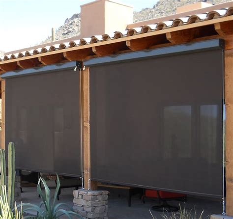 shade curtains for patios best patio blinds ideas on pinterest window sun shades