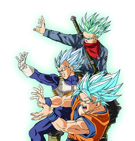 imagenes de goku white ssj white goku vegeta and future trunks by 345boneshoss