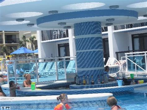 at the pool picture of hotel blue myrtle