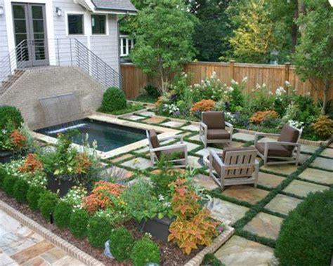 landscaping a small backyard virginia highlands bungalow contemporary landscape