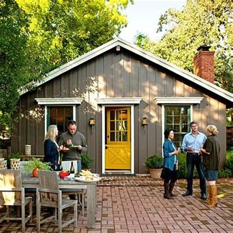 gray house yellow door gray house and yellow door by terri for the home pinterest