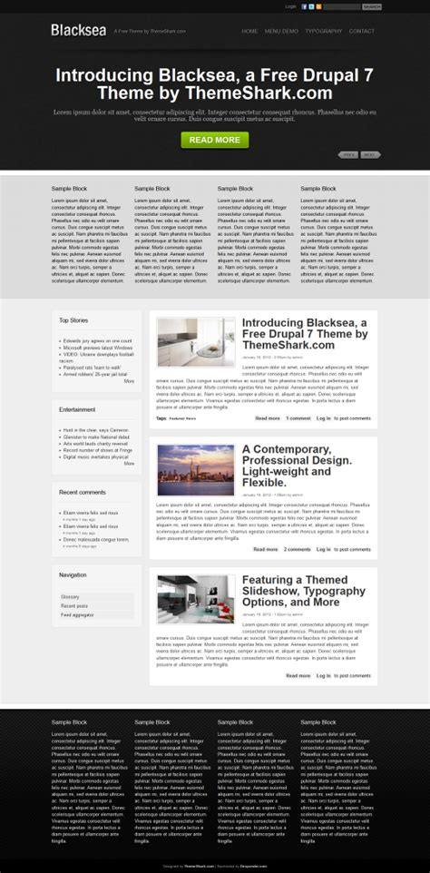theme drupal simple 10 easy beautiful drupal themes