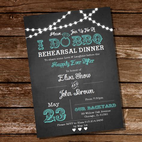 barbeque rehearsal dinner invitations i do bbq rehearsal dinner invitation instant and
