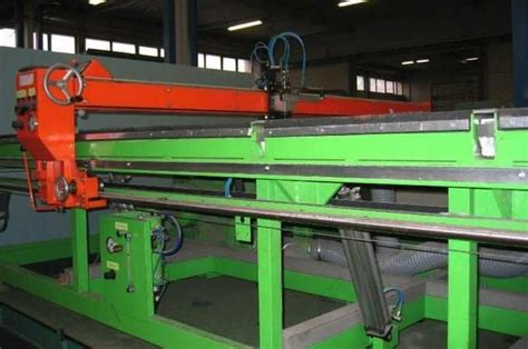 hegla semi automatic glass cutting table  hand