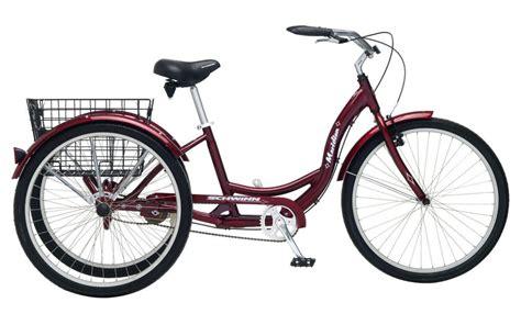 3 speed comfort bike schwinn 26 meridian 3 wheel trike adult comfort cruiser