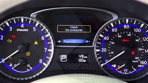 infiniti dashboard warning lights 2016 infiniti qx60 warning and indicator lights