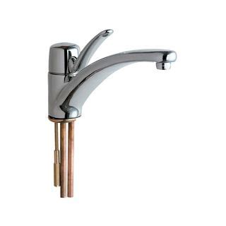 commercial grade kitchen faucets chicago faucets 2300 e34abcp chrome commercial grade