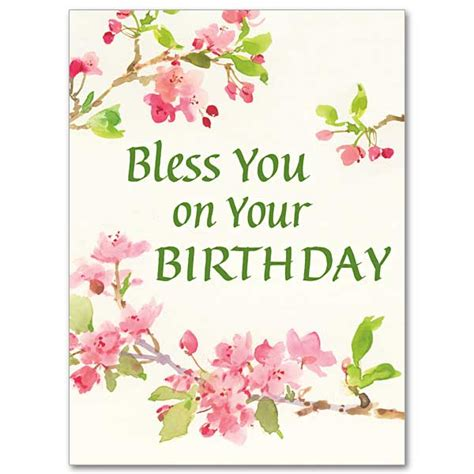 free printable birthday cards religious bless you on your birthday birthday card