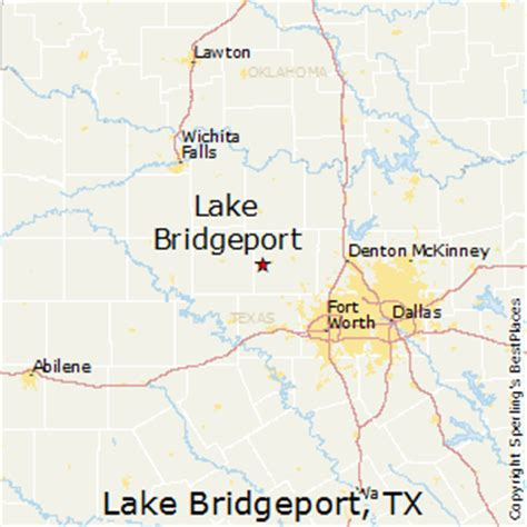 bridgeport texas map best places to live in lake bridgeport texas