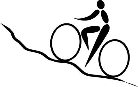 bicicletta clipart immagine vettoriale gratis ciclismo in bicicletta in