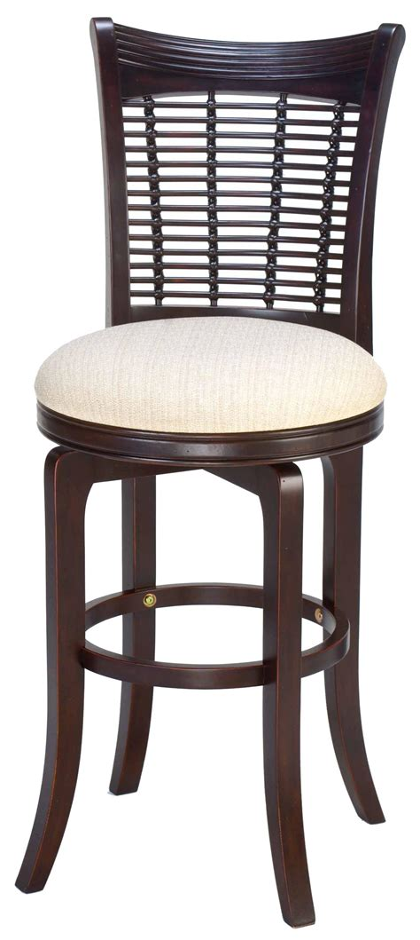 24 quot counter height bayberry wicker swivel stool