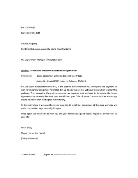 How To Write An Agreement Letter For A Loan Jop Tips 工作技巧 작업 팁 How To Write Simple Letter By Email For Termination Of Lease Agreement