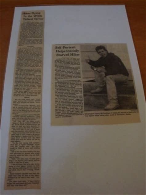 Chris Mccandless Essay by The Thread No Spoilers Page 224 Team Bhp