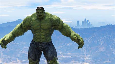 mod gta 5 pc hulk incredible hulk in gta 5 gta 5 mods funny moments youtube