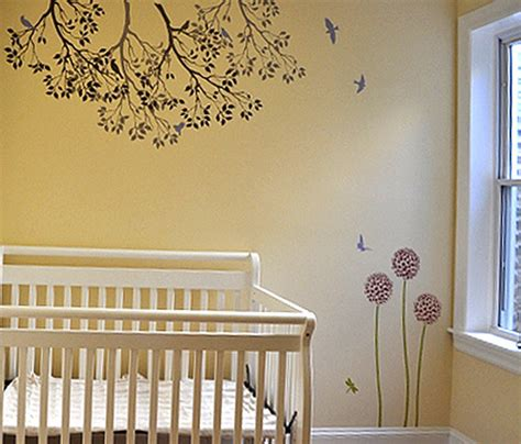 room stencils designs baby s room stencils flickr photo