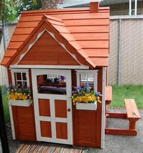 backyard discovery cedar playhouse 146 best images about backyard on pinterest screened
