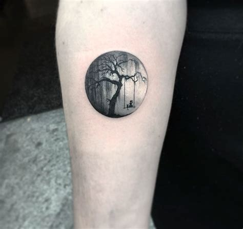 round pattern tattoo miniature circle tattoos by turkish artist eva krbdk