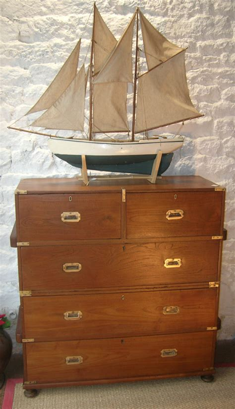 Commode Marine by Meuble Marine Commode Bateau Teck Commode Officier De