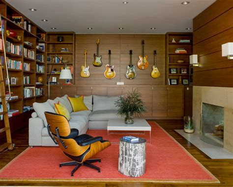 guitar room houzz
