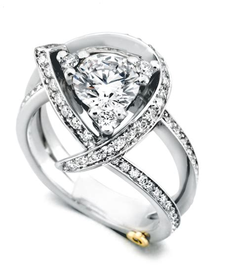 Wedding Rings Luxury by Luxury Contemporary Engagement Ring Schneider