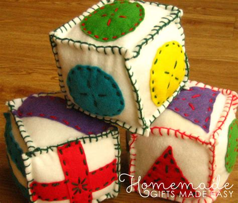 Easy Handmade Baby Gifts - easy baby gifts to make ideas tutorials and