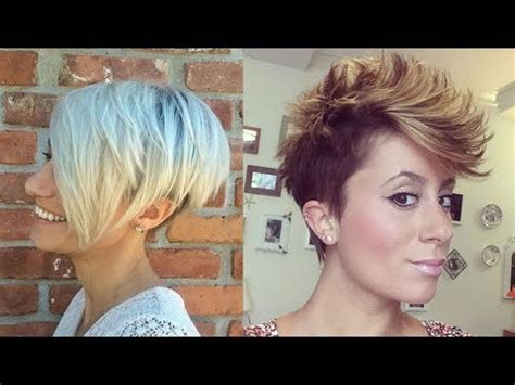 hairstyles for thick hair youtube excellent short hairstyles for thick hair 2017 short