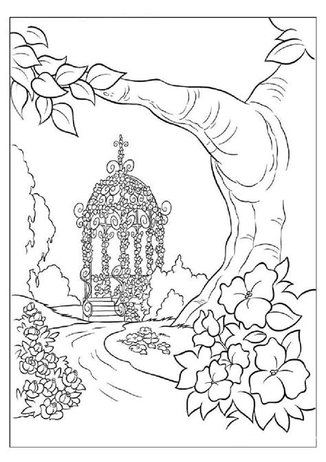 Nature Scenes Coloring Pages Az Coloring Pages Stunning Coloring Images
