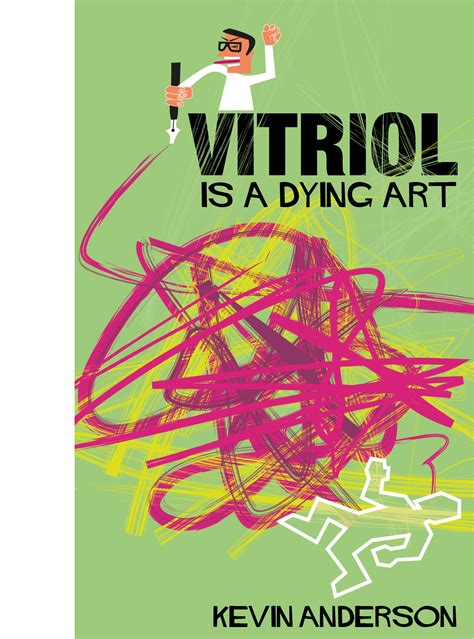 design cover for kindle book vitriol is a dying art kate parsons