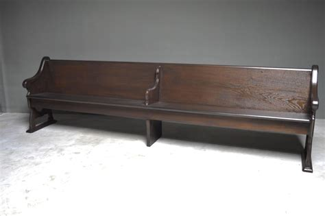 church benches for sale monumental church bench for sale at 1stdibs