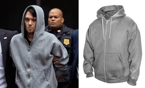 Hoodie Flock Martin Garry martin shkreli perp walk arrest hoodie becomes selling item scallywag and vagabond