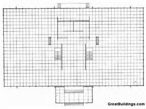 Crown Hall Floor Plan by Crown Hall Openbuildings
