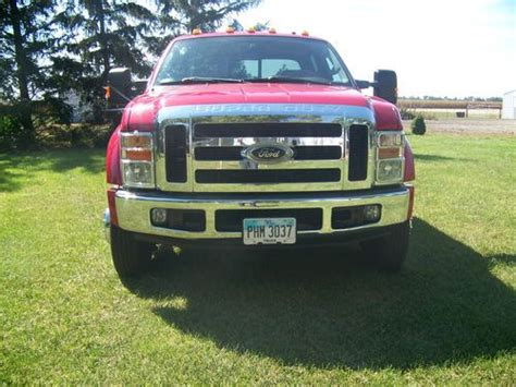 buy car manuals 2008 ford f series super duty instrument cluster sell used 2008 ford f 450 superduty 4x4 crewcab red 6 speed manual trans 103900 miles in fort