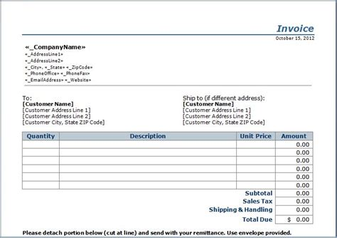 process server invoice template stub invoice template janitorial templates