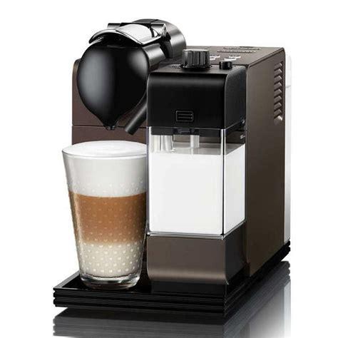 Nespresso Lattissima Plus Machine Black delonghi nespresso lattissima plus en520 db limited edition bronze coffee machine around
