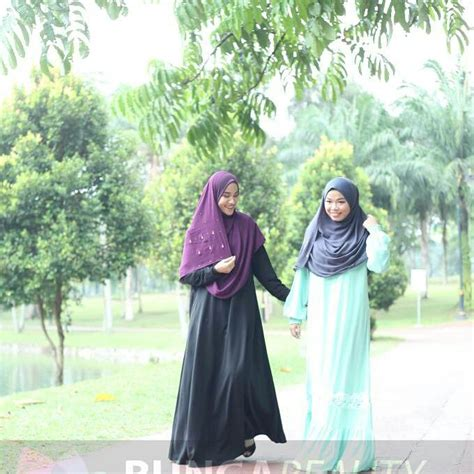 Abaya Murah Set Abaya Bunga Tumpuk By Mira Jaya 001 merdeka sale jualan murah bunga mynewshub