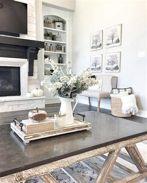Farmhouse Table Decor Ideas Inspiration Thaduder Com Decorating Ideas For Coffee Tables
