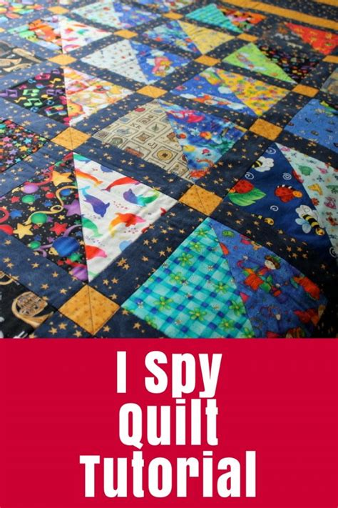 quilt tutorial videos i spy quilt tutorial the crafty mummy