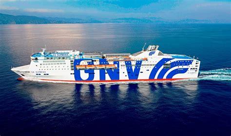 isola suprema grandi navi veloci gnv veste di nuovo l ammiraglia la