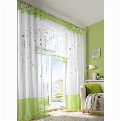 green and white patterned curtains ikea patterned curtains homesfeed