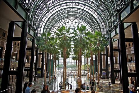 nyc winter garden light cycles world financial center winter garden to be