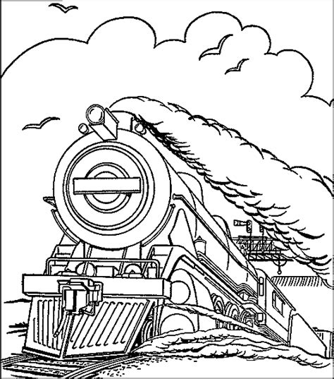 hogwarts train coloring page sketch of hogwarts express coloring pages