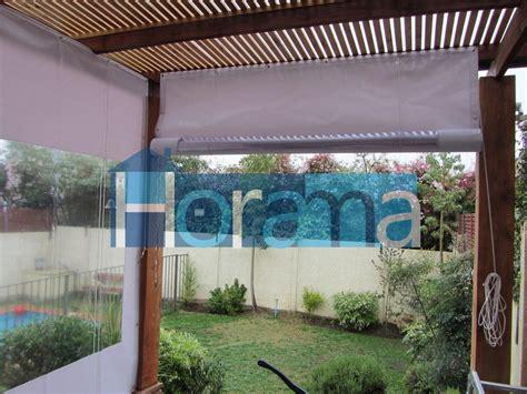 cortinas para pergolas cierres cortinas panoramicas para terraza quinchos