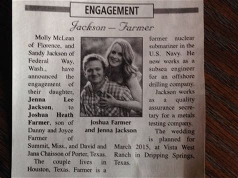 Wedding Announcement Newspaper Etiquette by Brides Are You Placing Your Wedding In The Newspaper