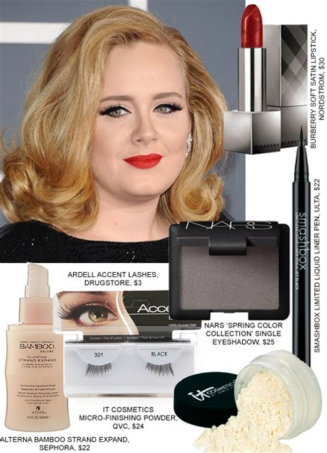 adele grammy 2012 eye makeup copy adele s grammys hair makeup beauty