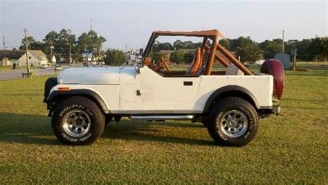 Used Jeeps For Sale In Alabama Find Used Jeep Cj7 Limited In Dothan Alabama United States
