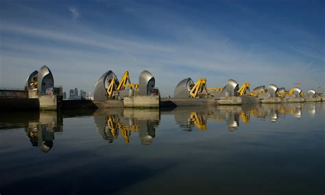 thames barrier by tube beyond the thames barrier how safe is london from another