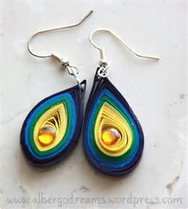 quilling earrings images quilled earrings 2 albergo dreams
