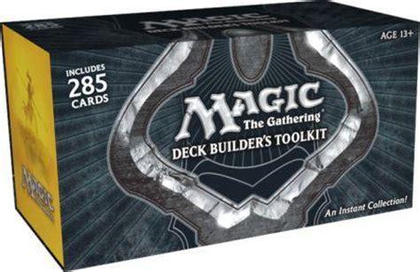 Deck Builder S Toolkit by Magic 2013 Deck Builder S Toolkit Mtg 2012 Magic