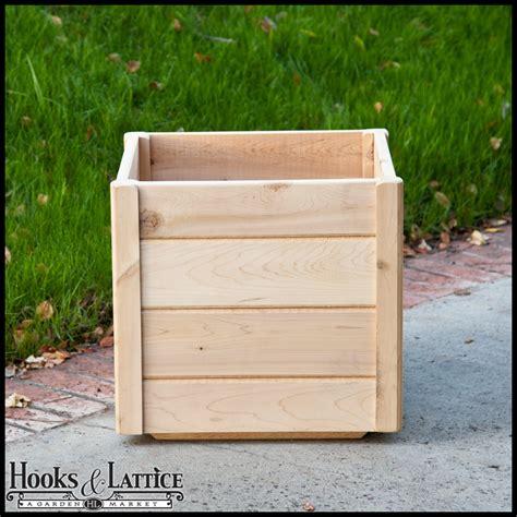 Wooden Deck Planter Boxes cedar wooden deck planters wood planter boxes